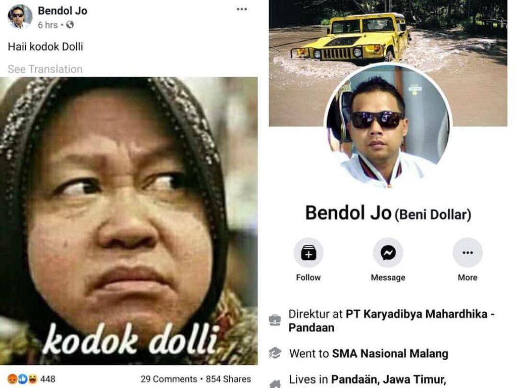 Risma Dihina Netizen Lagi, Pemilik Akun Facebook Ngaku Korban Hacker