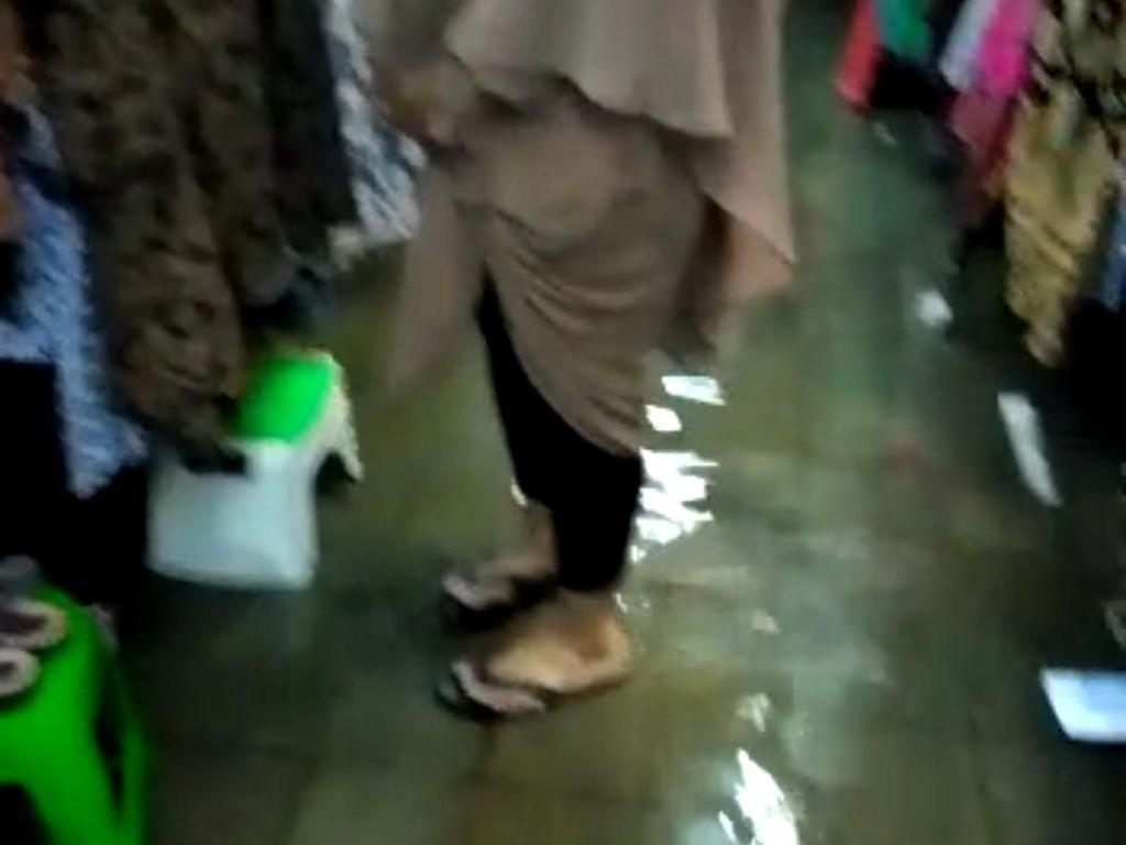 Hujan Lebat Guyur Yogya, Pasar Beringharjo Tergenang