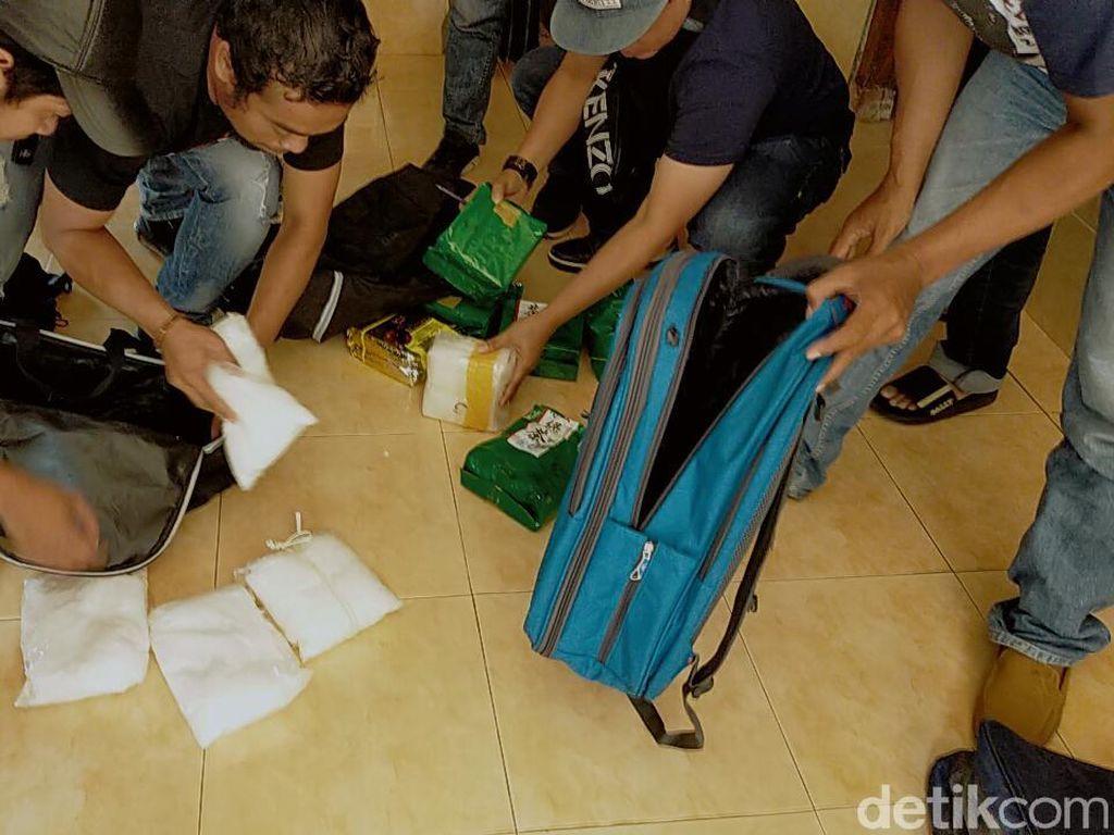 Video Penangkapan Kurir Penimbun 25 Kg Sabu di Surabaya & Bangkalan