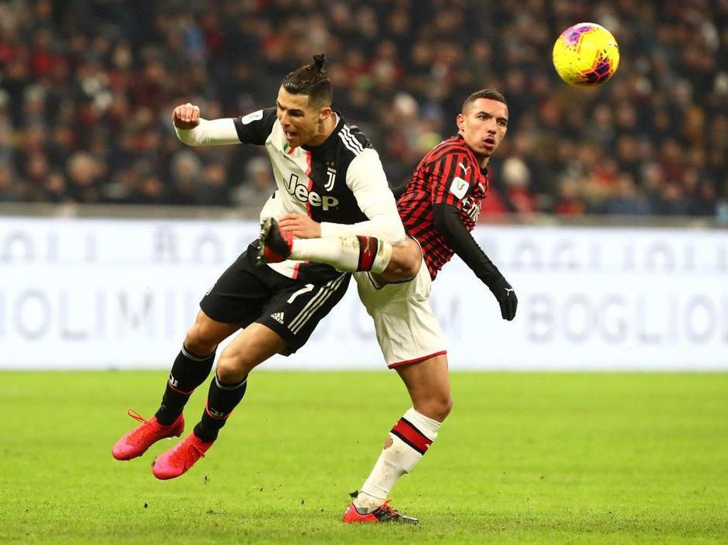 Laga Juventus Vs AC Milan Ditunda Akibat Virus Corona
