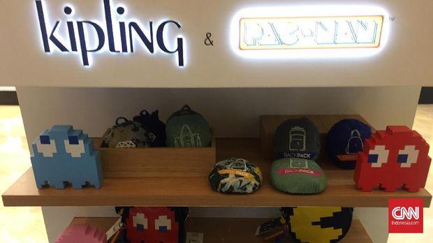 tas Kipling dan Pac Man