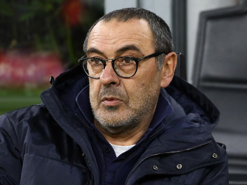 Juventus Dikalahkan Verona lalu Imbang Lawan Milan, Sarri Enggak Khawatir?