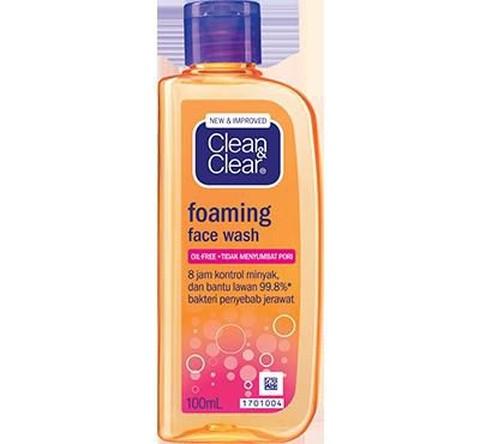 Pencuci Muka Clean And Clear Untuk Jerawat