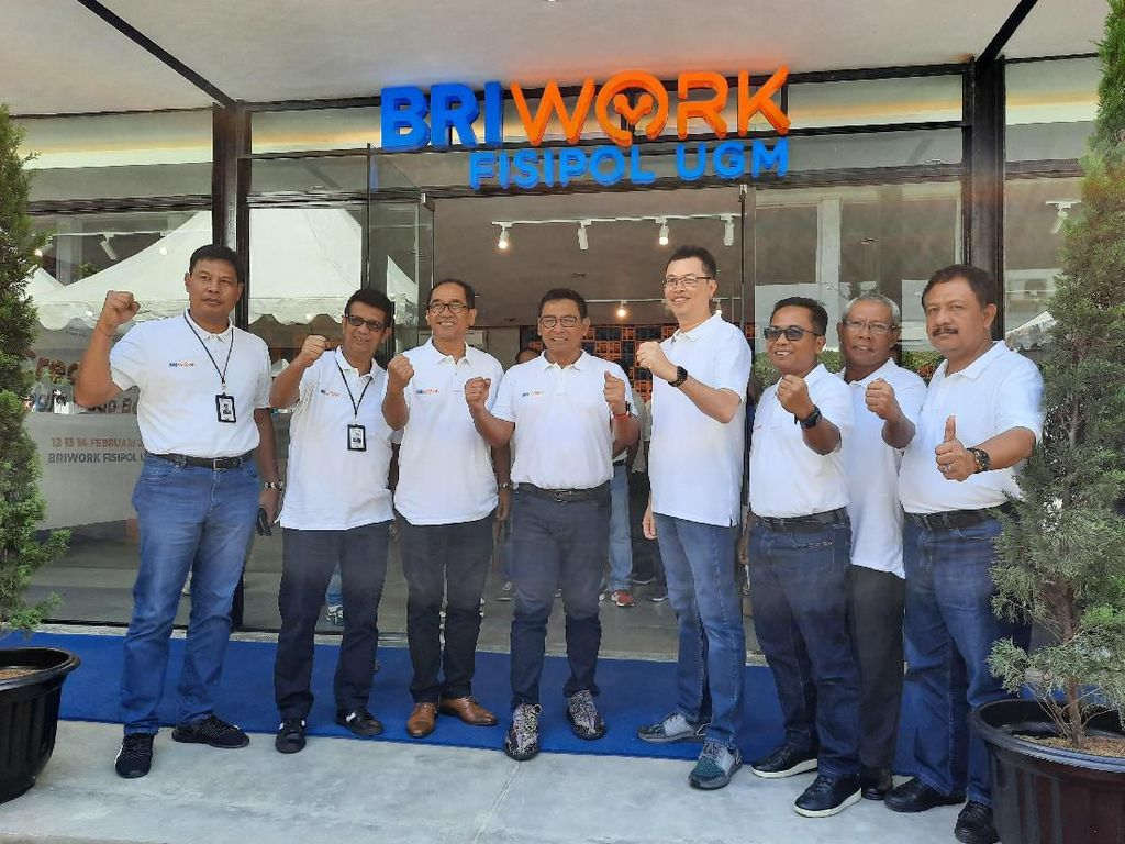 Layanan Perbankan, Co-Working Space & Cafe Jadi Satu di BRIWork UGM