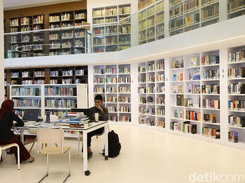 Potret Perpustakaan Instagrammable di Kedubes Belanda