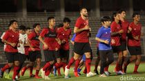 Momen Timnas Indonesia Latihan Perdana Dengan Pelatih Shin Tae-Yong