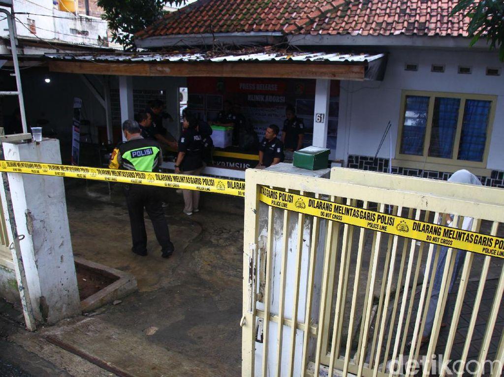 Polisi Bongkar Klinik Ilegal yang Aborsi 903 Janin di Jakpus