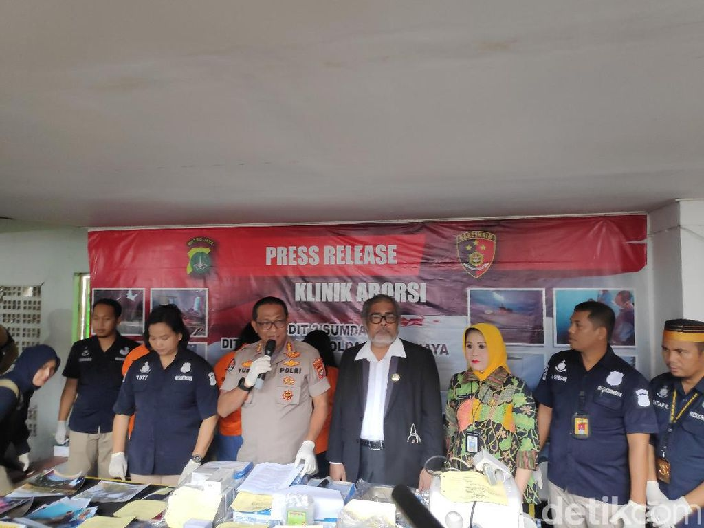 Polisi Bongkar Klinik Ilegal di Jakpus yang Aborsi 903 Janin