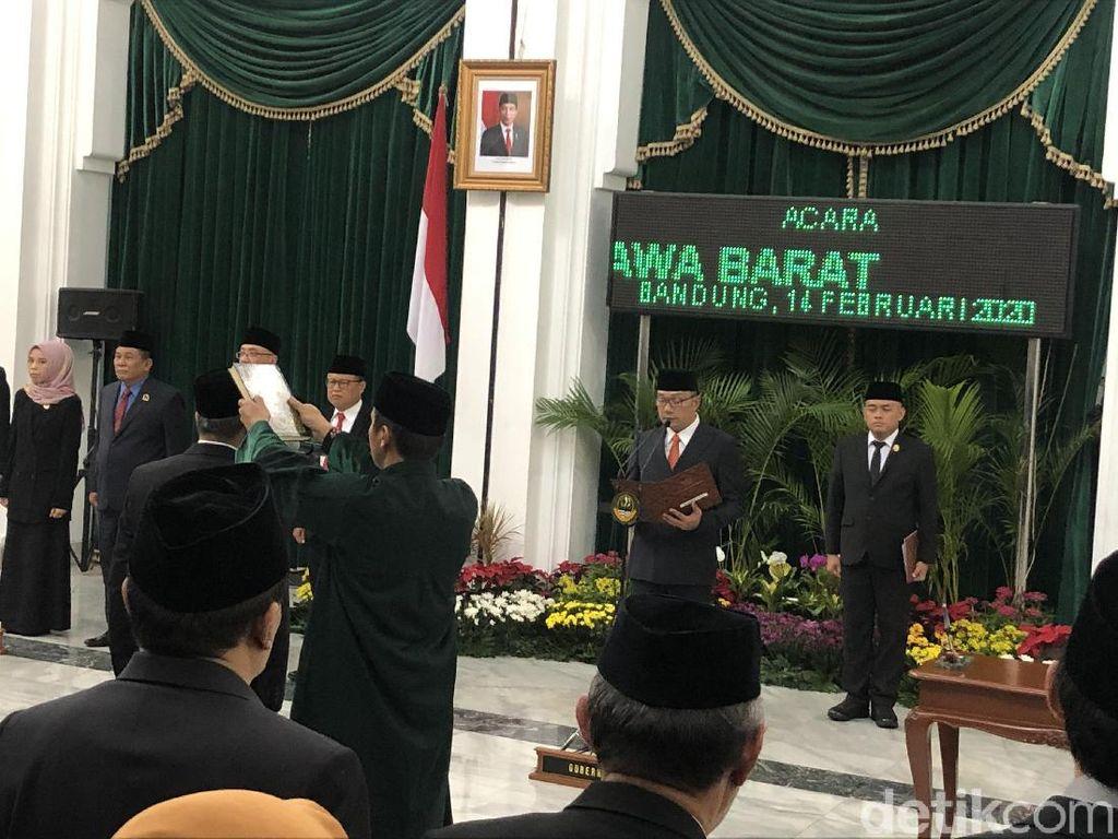 Ridwan Kamil Minta Sekda Baru Jadi Pelobi Bantuan Keuangan ke Pusat