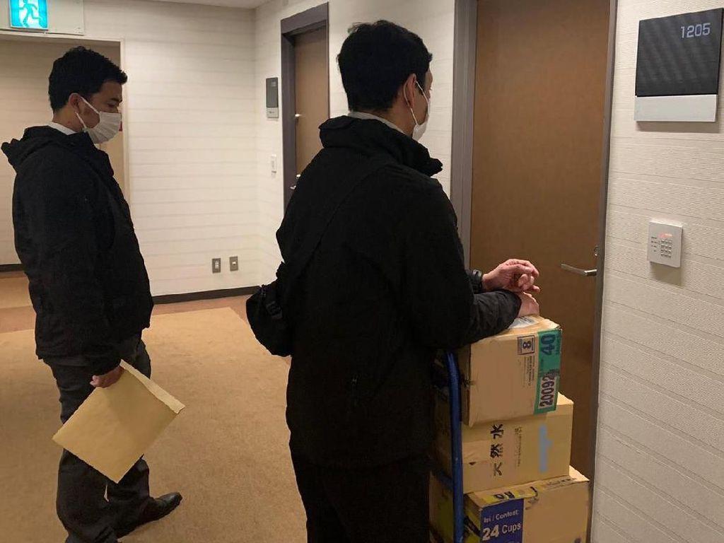 WNI Karantina di Kapal Pesiar Jepang Minta Dibawakan Obat Masuk Angin