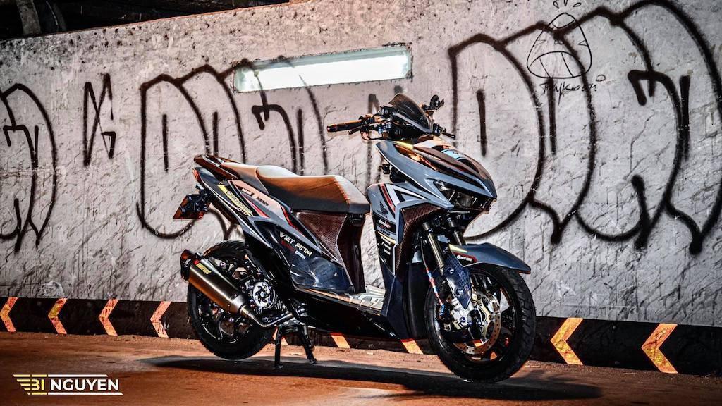 Modif Honda Vario 150 Street Night Ini Bikin Deg-degan