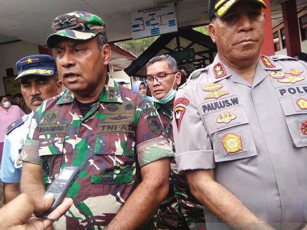 Kapolda Papua Berduka Prajurit Gugur, Imbau Barang di Heli MI-17 Dikembalikan