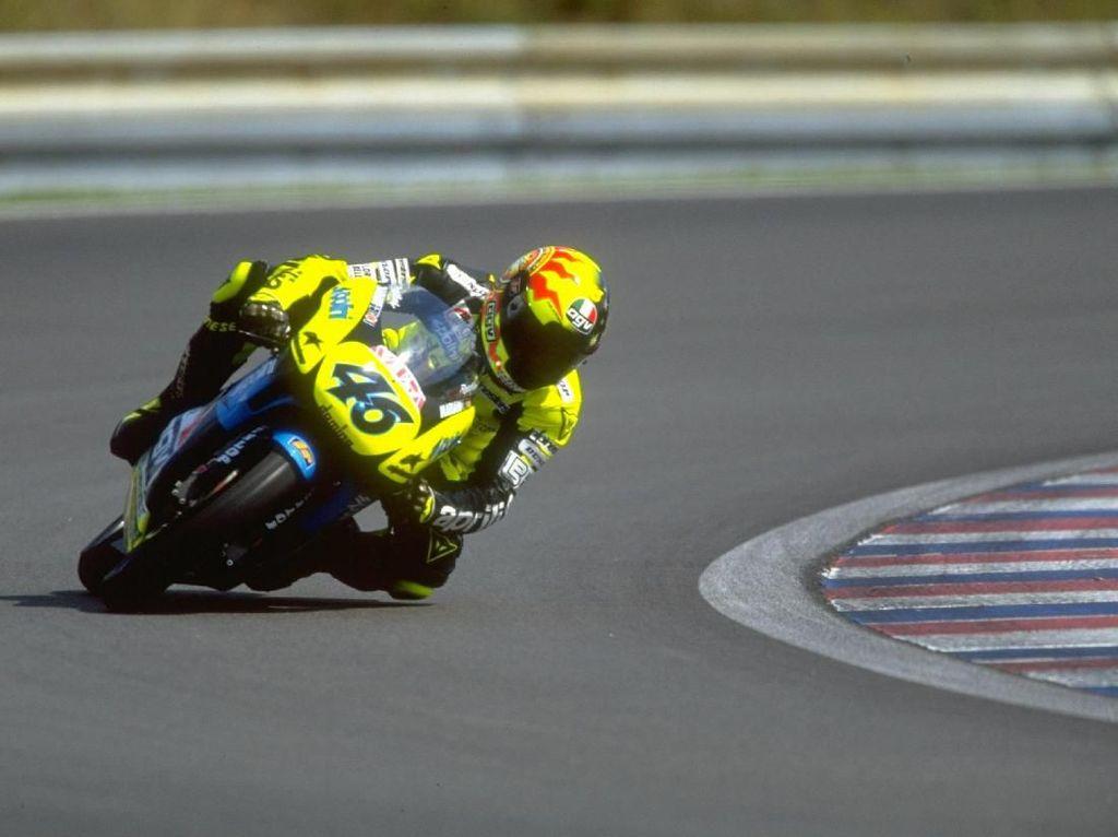 Deretan Pebalap MotoGP yang Belum Lahir saat Rossi Debut di GP125