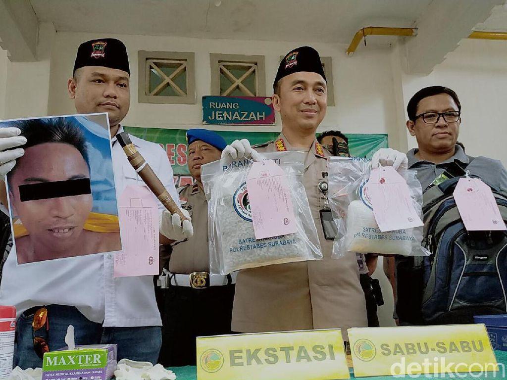 Bandar yang Ditembak Mati di Surabaya Kaki Tangan Bos Narkoba dalam Lapas
