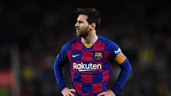 Setien Tak Khawatir Messi Tampil dengan Menahan Rasa Sakit