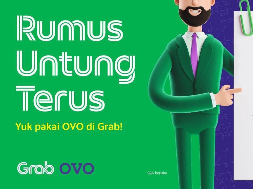 Wajib Tahu, Ini Rumus Untung Pakai OVO di Grab