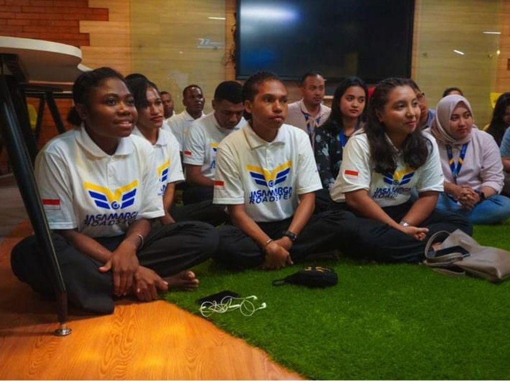 Dukung Pemerataan, Jasa Marga Sambut 10 Calon Pegawai Asal Papua