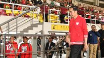Ditemani Jan Ethes dan Iriana, Jokowi Resmikan Stadion Manahan Solo