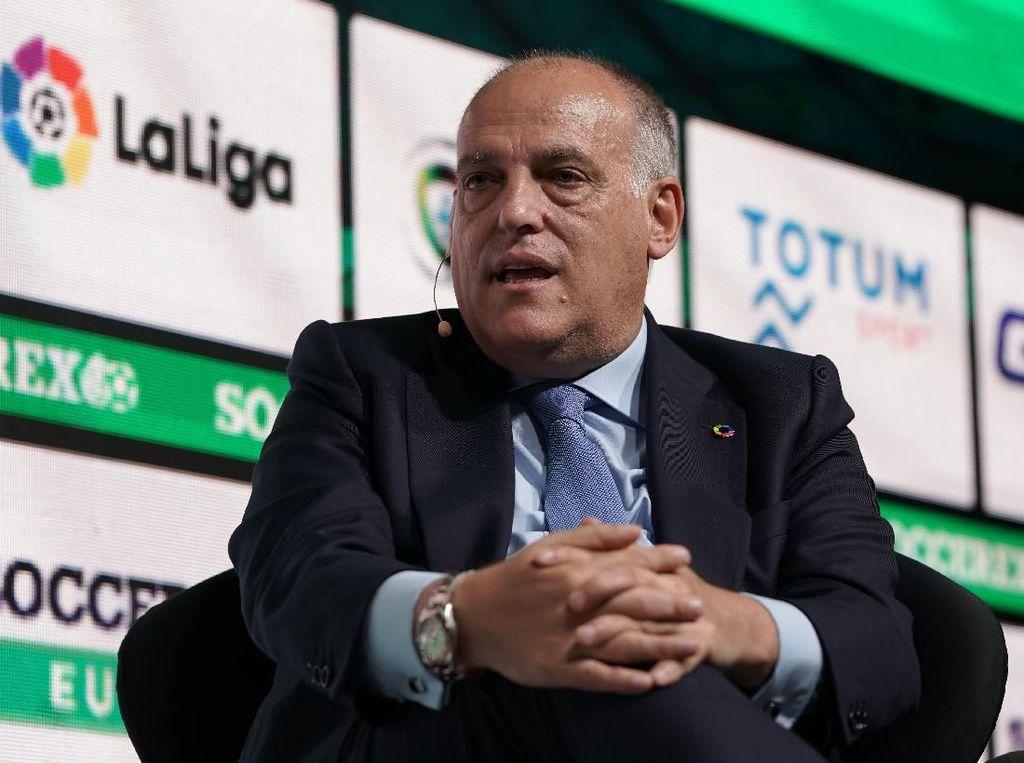 Presiden LaLiga Sambut Positif Sanksi Manchester City