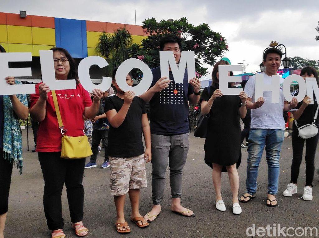 Usai Observasi, 1 Warga Sumut dari Natuna Pulang ke Medan