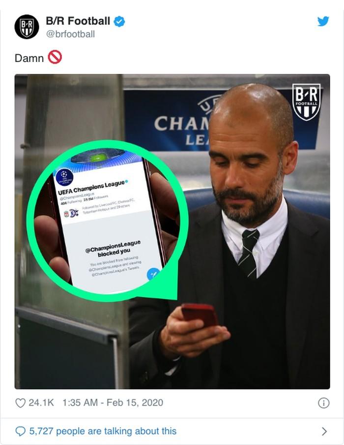 Sanksi Manchester City oleh UEFA memunculkan ragam meme