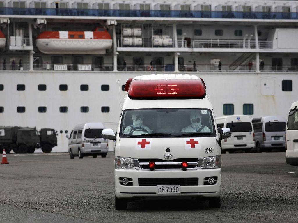 Video: 3 WNI di Kapal Pesiar Jepang Terjangkit Virus Corona