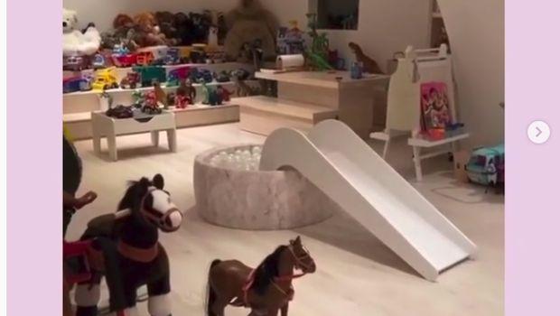 Ruang bermain anak Kim Kadarshian