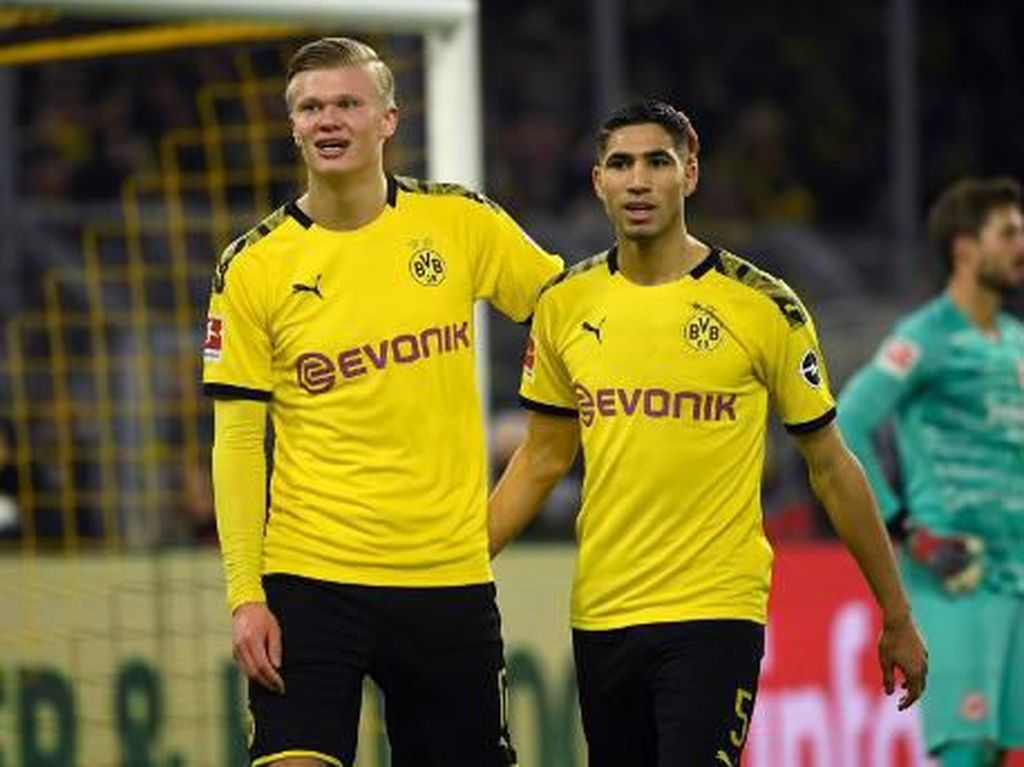 Dortmund Vs Frankfurt: Haaland Cetak Gol, Die Schwarzgelben Menang 4-0