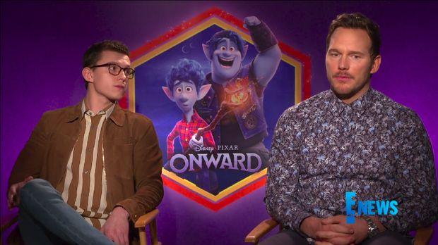 Tom Holland dan Chriss Pratt