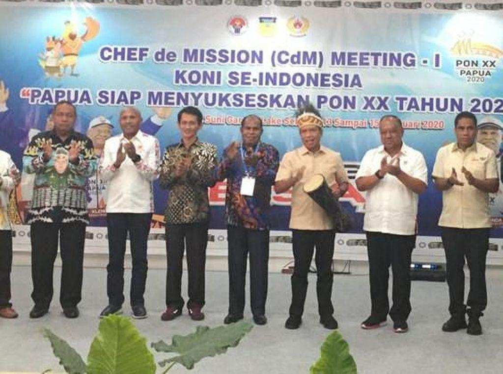Jelang PON Papua, CdM Meeting Digelar di Jayapura