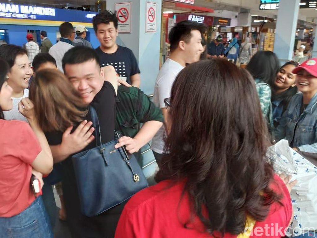 WNI Pulang Kampung Usai Observasi dari Wuhan yang Terkurung
