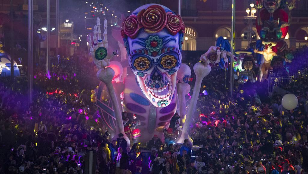 Potret Kemeriahan Karnaval Nice di Prancis
