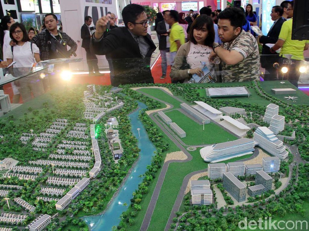 Pengunjung Padati Pameran Properti IPEX 2020