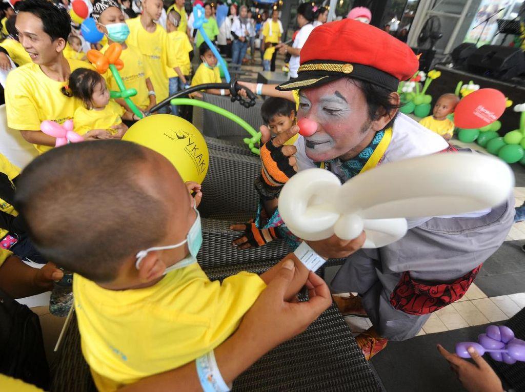 Menengok Perayaan Hari Kanker Anak di Jakarta hingga Medan