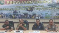 12 Korban Jatuhnya Heli MI-17 di Papua Berhasil Diidentifikasi