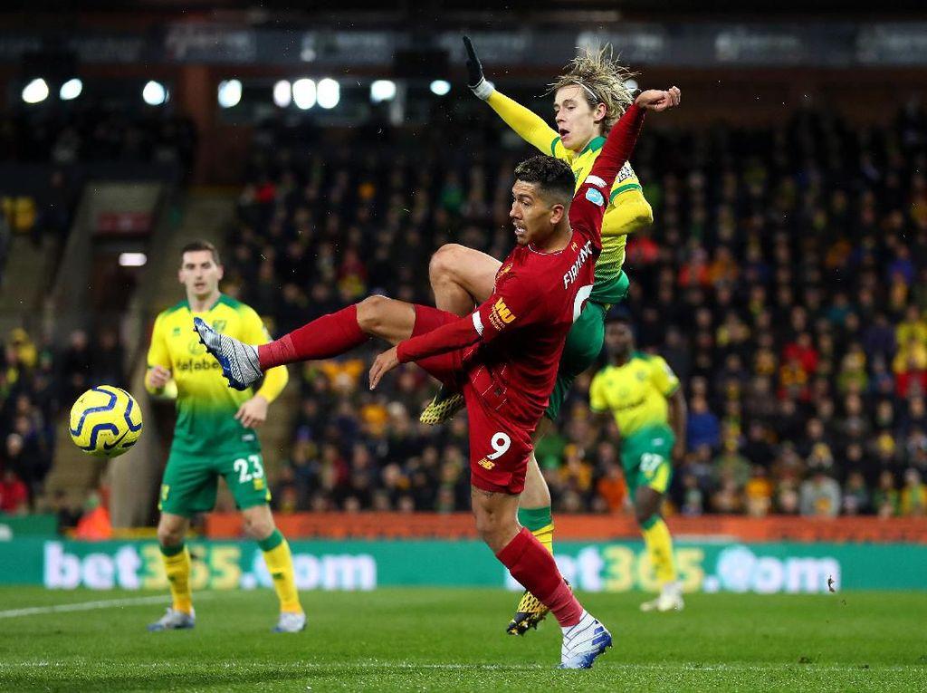 Babak Pertama Norwich Vs Liverpool: Skor Masih 0-0