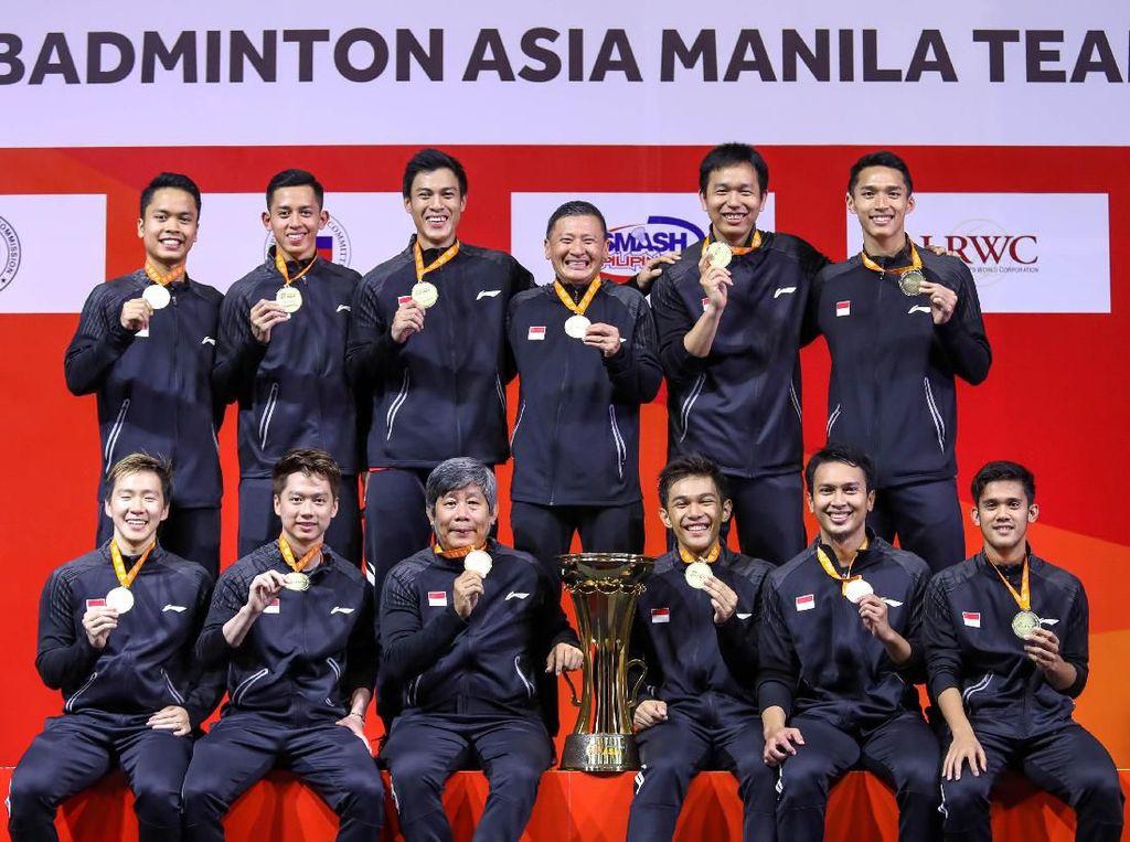 Indonesia Hat-trick Juara Beregu Asia, Susy: Luar Biasa