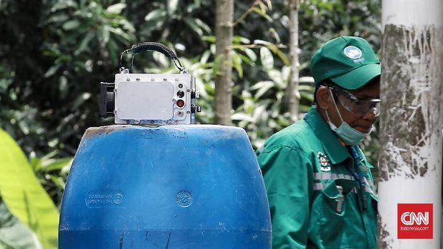 Hari ke-6 Batan Klaim Paparan Zat Radioaktif Turun 90 Persen