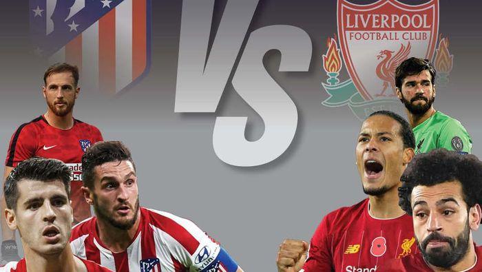 Liga Champions: Atletico 1-0 Liverpool