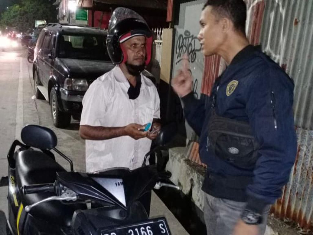 Berkendara Tanpa SIM di Makassar, 7 Pengungsi Luar Negeri Diamankan