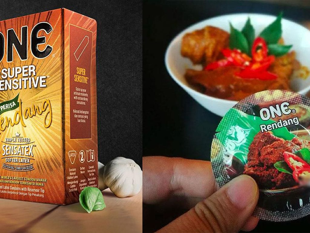 Durian hingga Rendang, Ini 5 Makanan yang Jadi Varian Rasa Kondom
