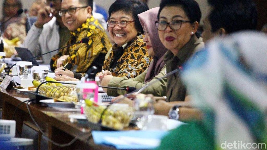 Menteri LHK dan Komite II DPD Bahas Program Kerja 2020