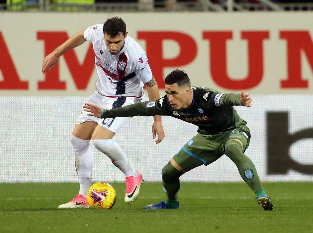 Cagliari Vs Napoli: Gol Mertens Pastikan Tiga Poin Il Partenopei