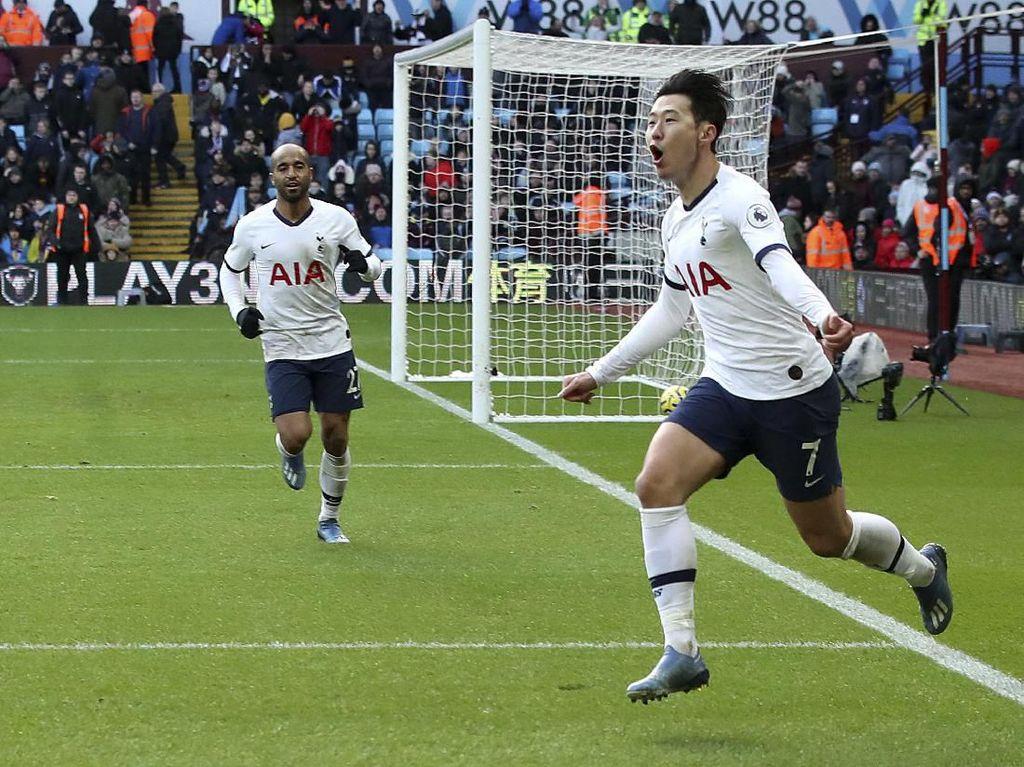 Gol-gol Kemenangan Dramatis Tottenham Atas Aston Villa