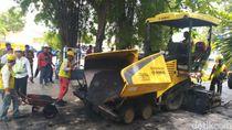 Kota Semarang Mulai Pakai Aspal Berbahan Limbah Plastik
