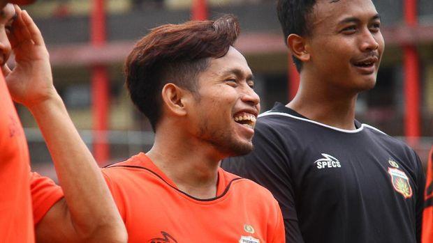 Andik Vermansah musim ini memperkuat Bhayangkara FC.