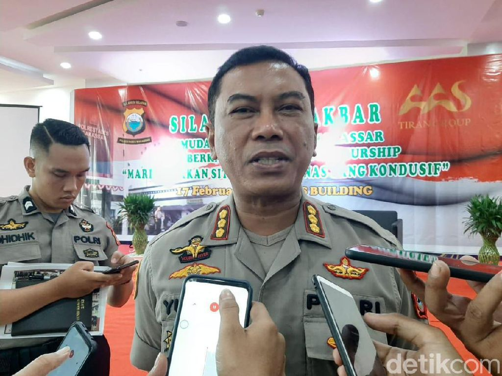 Kapolrestabes Usul Kota Makassar Terapkan PSBB Tahap Ketiga