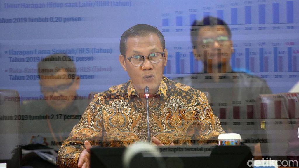Indeks Pembangunan Manusia Indonesia Naik Jadi 71,92