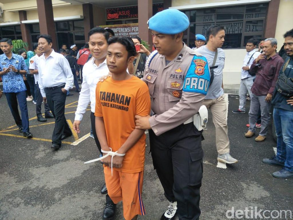 Polisi Tangkap Pembunuh Remaja Terjerat Sabuk di Karawang
