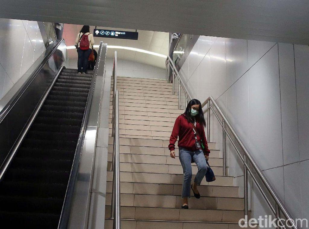 MRT Tutup Sebagian Pintu Masuk ke Stasiun, Ini Info Aksesnya